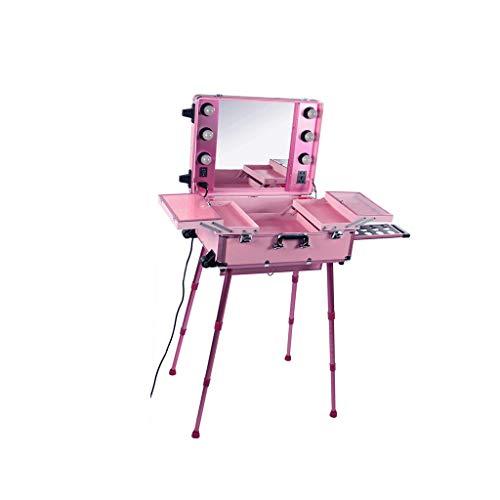 Zusammenstellung von professionellen Make-up-Koffern zum Kauf