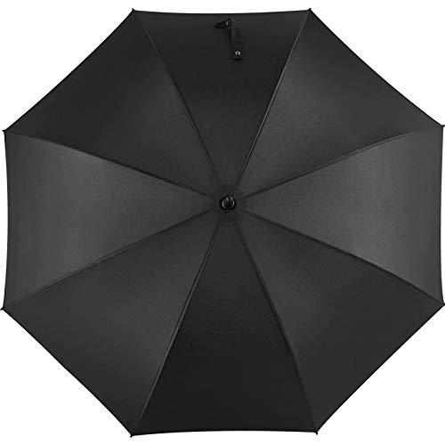 QCHD Paraguas de Negocios para Hombre con Interruptor automático de 27 Pulgadas, Paraguas Largo de 210 Dientes con 8 Mangos Largos