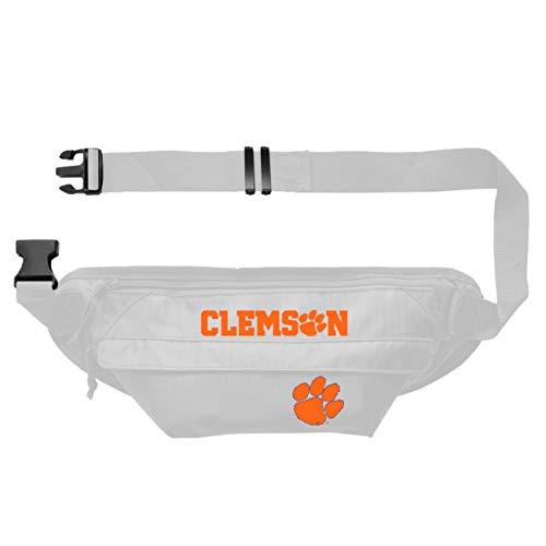 Littlearth NCAA Clemson Tigers NCAA Bauchtasche, Hüfttasche, Team-Farbe, 35,6 x 10,2 cm (B x H x T)