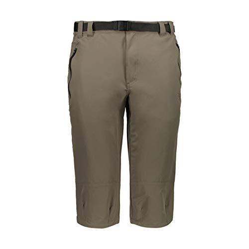 CMP Capri Stretch Trousers Pantalon Homme, Wood, 56