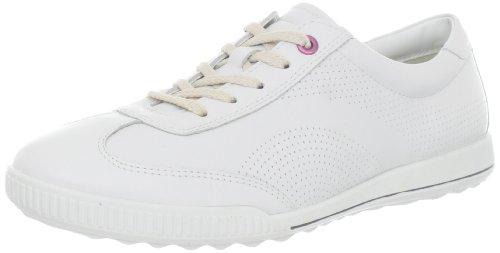 Ecco Crisp Black Feather Damen Sneaker, Weiß (WHITE 01007), EU 39