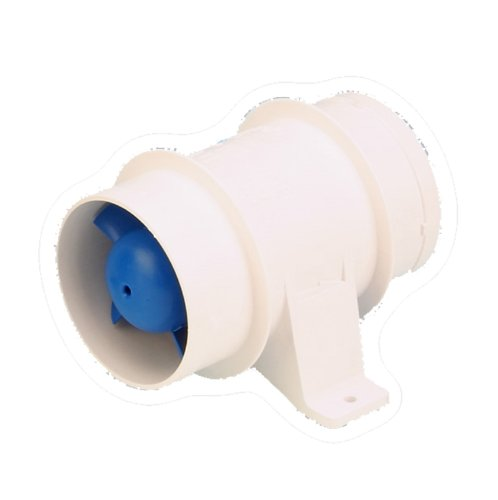 Rule In Line Marine Bilge Blower, Slip On Connections, Efficient and Quiet High Volume Air Flow