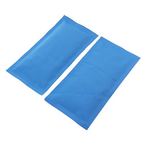 harayaa 2x Bolsas de Hielo Reutilizables Bolsas de Hielo Calientes O Frías para