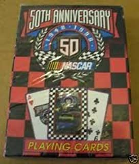 50th Anniversary Nascar Playing Cards: 1948-1998