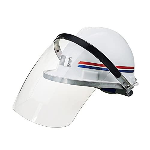 Meys Cascos Industriales, Cascos De Construcción, Protección Laboral, Protección para La Cabeza con Excelente Valor De Amortiguación, Cascos De Seguridad (Color : White)