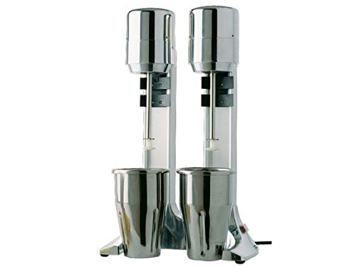 Profi-Doppel-Mixer, 2 x 900ml Mixbecher aus Kunststoff, 9000 Umdrehungen/Minute; FN-A2/L GGG