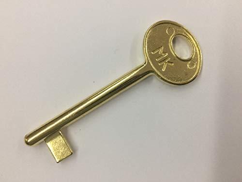 Chiave UNIVERSALE PASSPARTOUT per serrature patent da interno,finitura ottonato verniciato,apre tutte le serrature serie CENTRO e serie patent vecchio tipo AGB