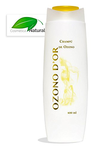 Ozono Dor. Shampoo naturale di ozono 400 ml. Grazie al ozono, Este Shampoo ES Antiforfora E Previene la Alopecia, confiere più