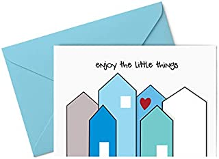 Biglietto d'auguri - enjoy the little things - amore - famiglia - gli stampati - biglietto d'auguri (formato 10,5 x 15 cm)...