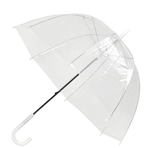 Sombrillas Sombrillas Paraguas de Boda Decoración Transparente Accesorios de Boda Paraguas de Arco Accesorios de Moda Fiesta de Mujeres