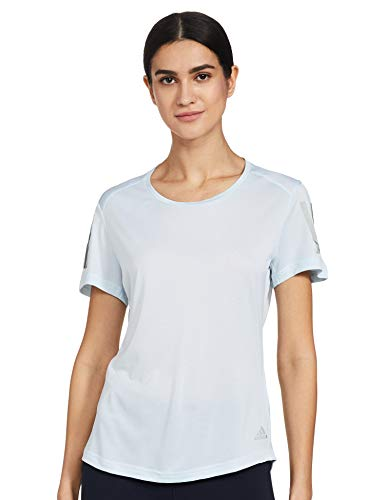 adidas Damen Own The Run T-Shirt, Skytin, M