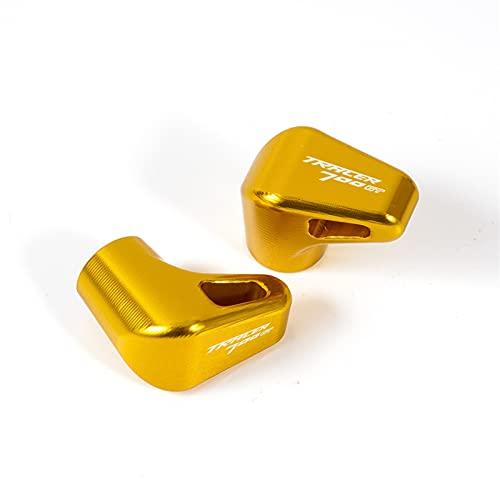 Cubiertas herméticas para válvulas de neumáticos de Yamaha Tracer 700gt 900 gt 700 900 Gt Tracer MT07 MT09 para motocicleta, CNC de aluminio, color dorado