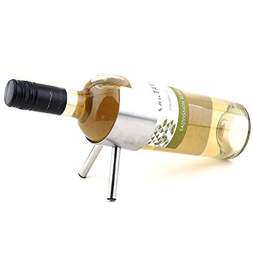 estantería de Vino 1 PC Nuevo Estante de Vino de Metal 3 Botellas Montado en la Pared Barra de Vino Botella de Vino Tapa de Almacenamiento estantes para Vino