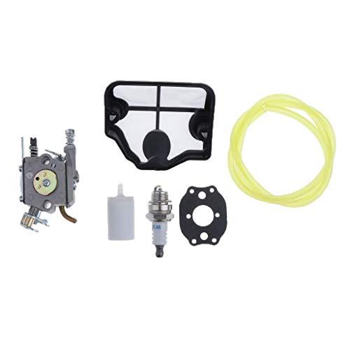 Kit de repuesto de carburador de carburador para motor Husqvarna 36 41 136 137 141 142 motosierra C1Q-W29E