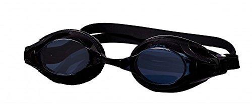 Best Sporting Schwimmbrille Advancer, blau oder schwarz, Farbe:schwarz