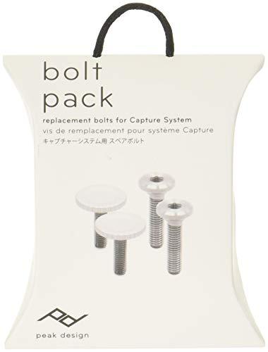 Peak Design Bolt Pack Viti di ricambio per Capture Clip v3 – Argento