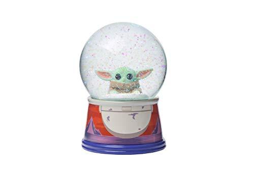Silver Buffalo Star Wars The Mandalorian The Child Egg Pod 100mm Snow Globe, Multicolored (SWM509DM)