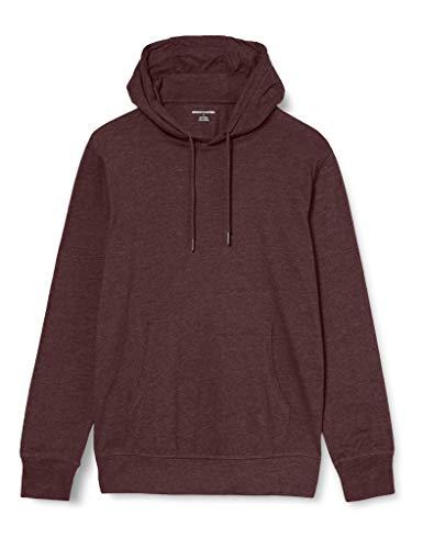 Amazon Essentials Lightweight Jersey Pullover Hoodie Fashion, Burgundy, US S (EU S)
