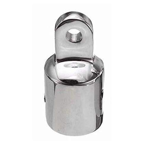 Raybre Art Bimini Top Cap 316 Edelstahl Auge End Bootsbeschläge Auge End Bootsbeschläge Hardware für 7/8 '' Rohr -22mm