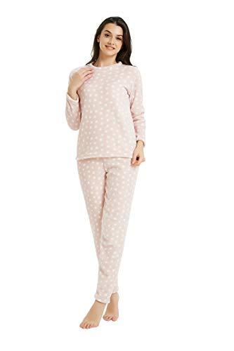 PimpamTex – Pijama Coralina Mujer Otoño-Invierno