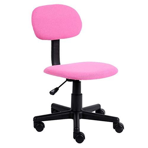 Jieer-C Ergonomische bureaustoel, bureaustoel, ergonomische bureaustoel, voor professioneel gebruik Roze.