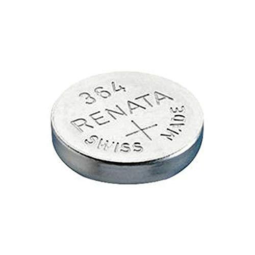 Renata, SR621SW, 10 pile a bottone al litio 364
