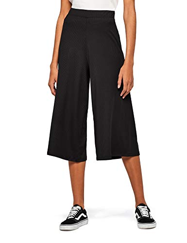 Amazon-Marke: find. Damen Hose, Schwarz (Black), 38, Label: M