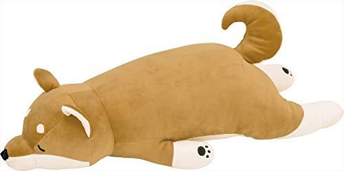 りぶはあと 抱き枕 プレミアムねむねむアニマルズ 柴犬の柴犬のコタロウ Lサイズ W73xD32xH18cm 48768-44