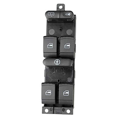 YaoH Store Interruptor de elevación botón de control de ajuste para VW 99-04 Golf 4 Jetta MK4 BORA Passat B5 B5.5 interruptor eléctrico de ventana del coche 3BD 959