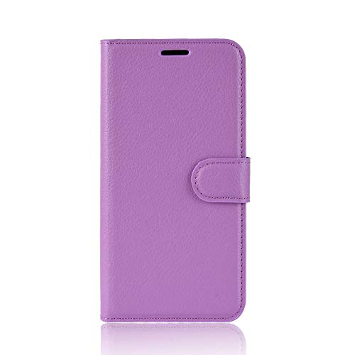 Ycloud Tasche für ASUS ZenFone 3 Max (5.2 Zoll) ZC520TL Hülle, PU Ledertasche Flip Cover Wallet Case Handyhülle mit Stand Function Credit Card Slots Bookstyle Purse Design lila