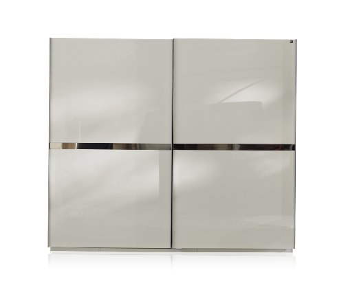 Wimex Safe4 - Armadio a 6 ante, 300 x 216 x 59 cm, colore: Bianco alpino