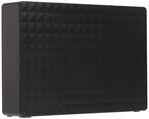 Seagate (STEB6000403) Expansion Desktop 6TB External Hard Drive HDD – USB 3.0 For PC Laptop