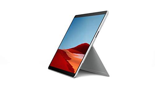 Microsoft Surface Pro X, 13 Zoll 2-in-1 Tablet (Microsoft SQ2, 16GB RAM, 512GB SSD, Win 10 Home) Platin, Srfc Prjct C-4A
