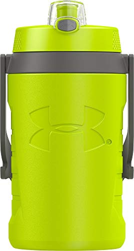 Under Armour Sideline 64 Ounce Water Jug, Hyper Green