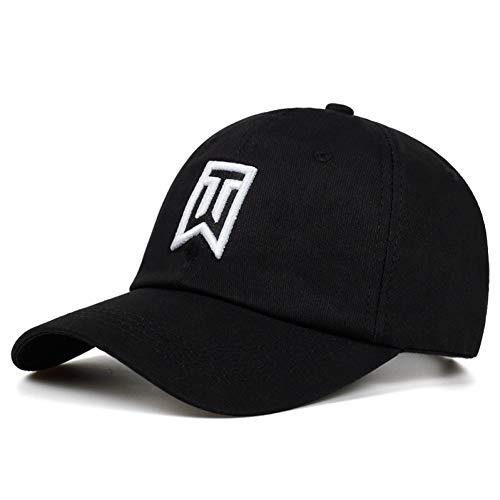 LXYSLX Männer Baseballmützen Marke Golf Tiger Woods Mann Brief Stickerei Papa Hut Frauen Baumwolle% Einstellbare Hip Hop Cap Hüte