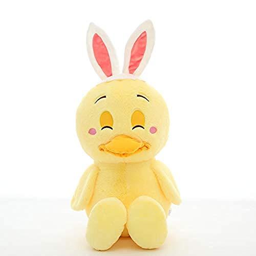 HHTTbAO Figura de Conejo 35 cm Ojos Ciegos, Almohada Regalos para niños Regalos de cumpleaños Adecuado para bebés Muñecas portátiles Juguetes cómodos