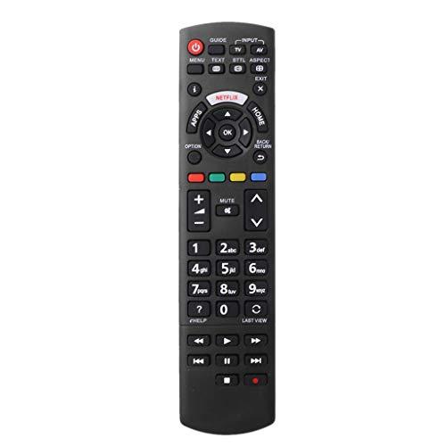 BASSK Reemplazo del Controlador de Control Remoto para Panasonic Smart TV LED Botones Netflix N2Qayb001008 N2Qayb000926 N2Qayb001013 N2QAYB001009 N2QAYB001109