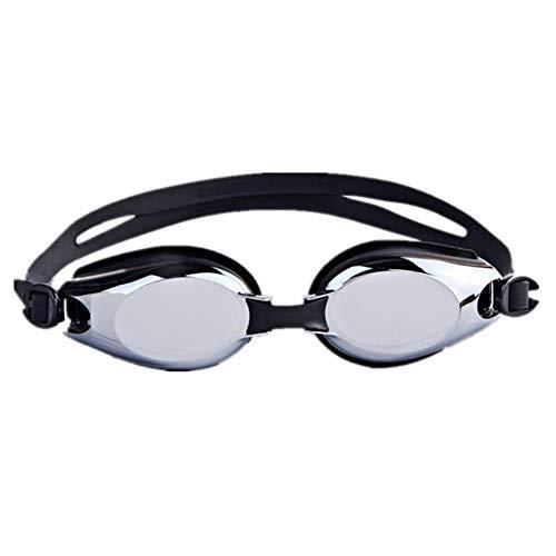 LWX Gafas de Natación, Antivaho y Gafas de Natación Anti UV para Hombres