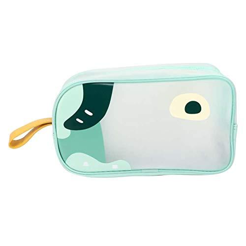 Voyage Portable Cartoon Cosmetic Bag, Train Case Maquillage Imperméable Trousse De Toilette Organisateur 26 X 15 X 10 cm pour les Femmes
