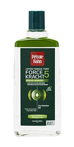 Petrole Hahn - Lozione tonica Force 5Vitalité, per capelli normali, 300ml,set da 2