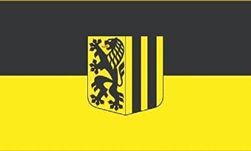 U24 Motorradflagge Dresden Fahne Flagge 20 x 30 cm