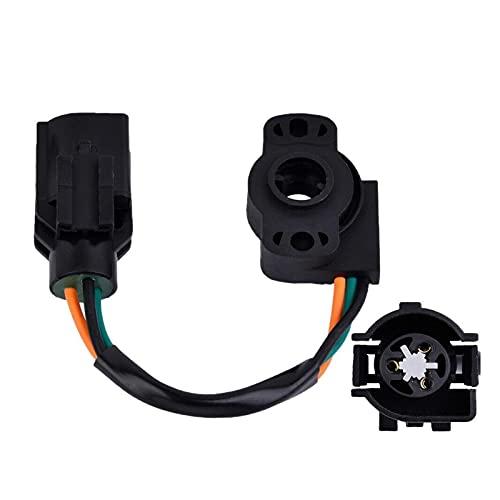 RONGSHU Sensor de posición del Acelerador TPS Ajuste para Ford Mustang E-Series E-Series Bronc Pickup F-Series Sensor de posición del Acelerador TH44T (Color : Black)