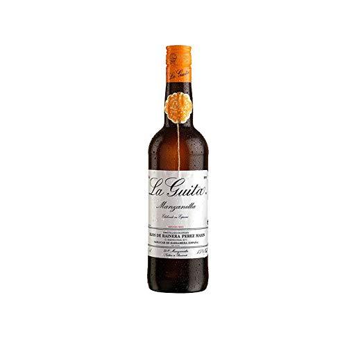 Vino Manzanilla la Guita de 75 cl - D.O. Manzanilla Sanlucar de Barrameda - Bodegas Grupo Estevez (Pack de 1 botella)