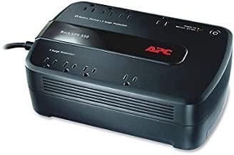 APC UPS, 650VA UPS Battery Backup Surge Protector, BE650G1 Backup Battery, Dataline Protection, Back-UPS Uninterruptible Power Supply Black