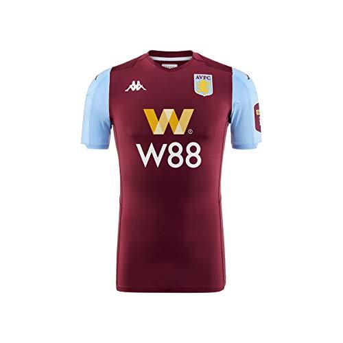 Kappa Trikot Kombat Pro Aston Villa FC Home 19/20 – Man Gr. 56, Burgunderrot