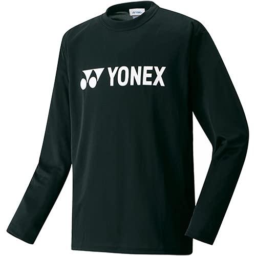 (ヨネックス)YONEX ユニセックス ロングスリーブTシャツ 16158 007 ブラック M