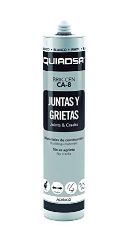 QUIADSA BRIK-CEN CA-8 NEGRA Sellador Acrílico, 300 ml