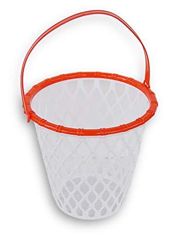 Retail Basketball Hoop Style Easter Basket Halloween Bucket