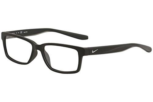 Nike Herren 7103 001 52 Brillengestelle, Schwarz (Matte Black)