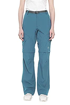 Little Donkey Andy Women's Stretch Convertible Pants Zip-Off Quick Dry Hiking Pants Slate Size XL